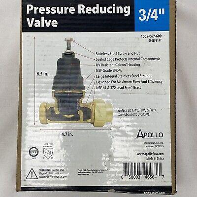 Apollo 34 In. X 34 In. Lead Free Bronze Fnpt Pressure Reducing Valve