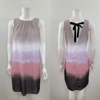 H&M Women's Size 8 Sleeveless Scoop Neck Knee Length Shift Dress