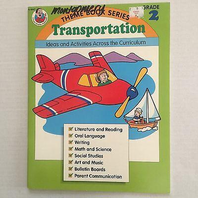 Transportation Theme Teaching Classroom Resource Book Grade 2 Ideas Activities - Classroom Themes Ideas