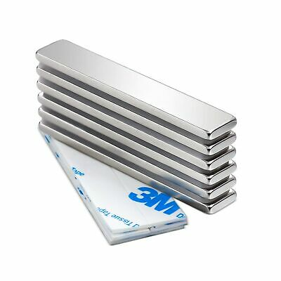 Strong Neodymium Bar Magnets With Double-sided Adhesive Rare-earth Metal Neo...