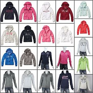 HOLLISTER-by-Abercrombie-WOMEN-S-HOODIE-SWEATSHIRT-LOBSTER-POINT-XS-S-M-L