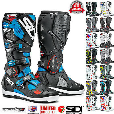 Sidi Off Road (SIDI Crossfire 2 SRS Motocross Off Road Enduro Boots )