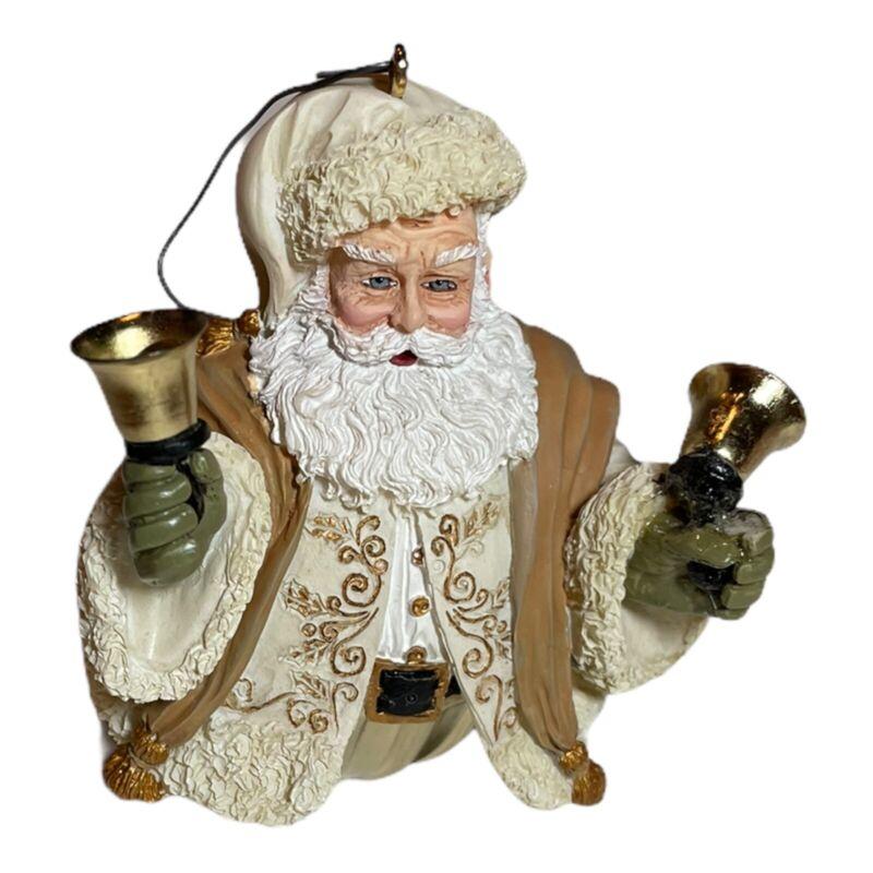 Hallmark 2004 Christmas JOLLY OLD KRIS Santa St Nick JINGLE BELL Tree Ornament