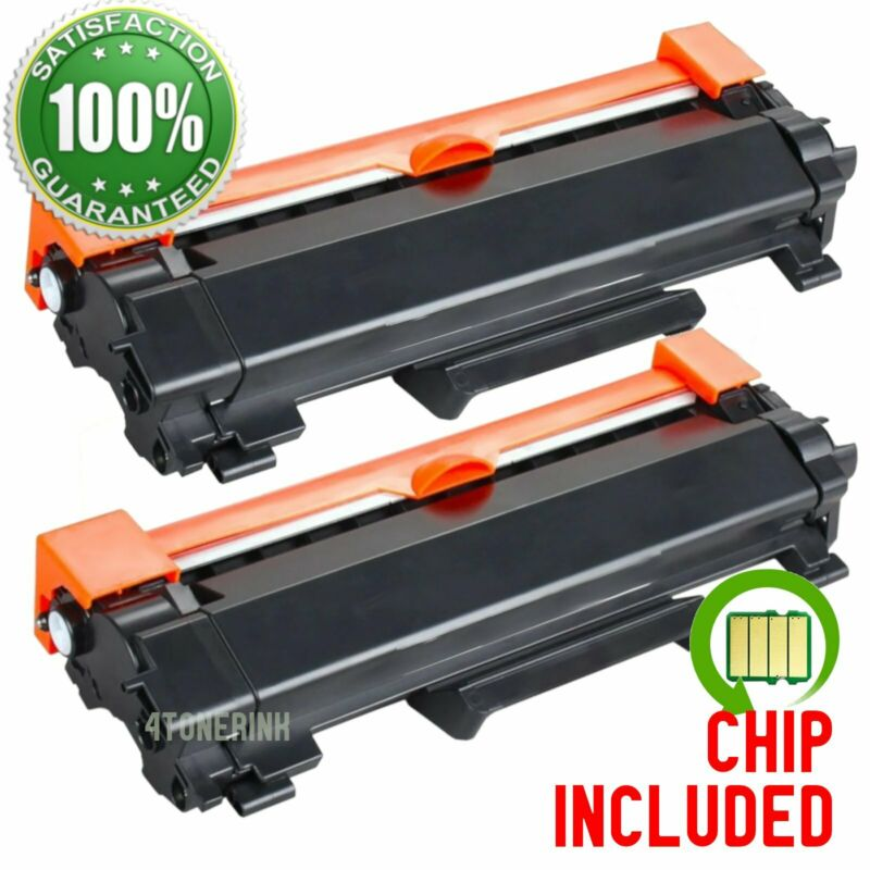 2PK TN760 Toner Cartridges for Brother MFC-L2710dw HL-L2730DW MFC-L2750DW TN730