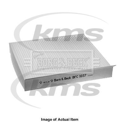 New Genuine BORG & BECK Pollen Cabin Interior Air Filter BFC1037 Top Quality 2yr