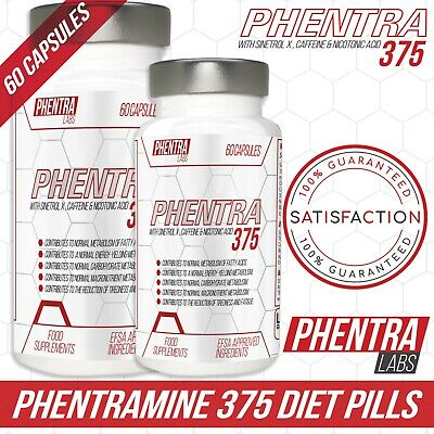 Phentra Labs Phen 375 Phentramine Strong Weight loss pills Appetite Suppressant