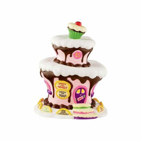 Department 56 Grinch Village Who-Ville Sweet Shop #4053063 NIB