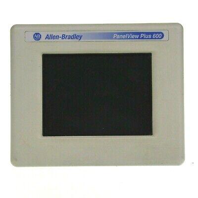 Tested Allen Bradley 2711p-t6c5d A Panelview Plus 600 24vdc