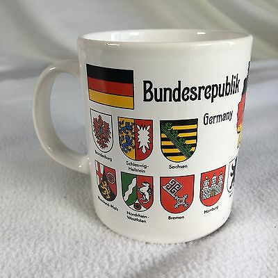 Deutschland Germany Coffee Mug Bundesrepublik