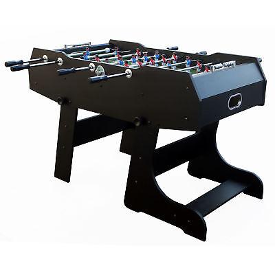 Tischfussballtisch Kicker-Tisch 140x74x88cm Tischkicker Fussballtisch klappbar