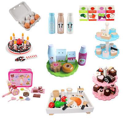 Magni® Lebensmittel Holz Spielzeug Zubehör Spielküche Kaufladen Kinderküche  ()