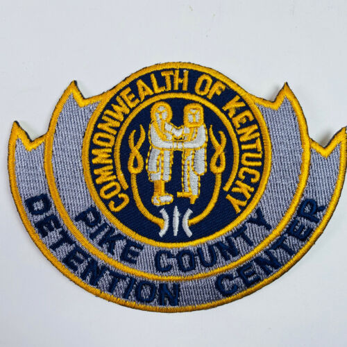 Pike County Detention Center Kentucky KY Corrections DOC Patch (A2)