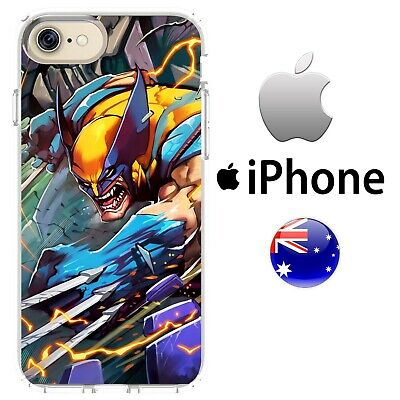 Sabretooth Cover (Case Cover Silicone Marvel Comics X-men wolverine Hugh jackman sabertooth logan)