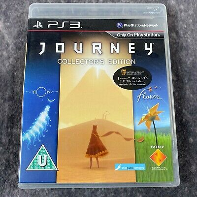 Journey Collector's Edition PS3 PlayStation 3 Game Complete Flow + Flower