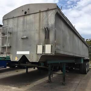 Hockney Alcan TS3 Tri-axle Semi Tipper Trailer.Grain Shute Inverell Inverell Area Preview