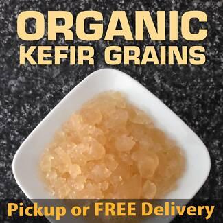 PREMIUM ORGANIC Water Kefir Grains - probiotic - *FREE DELIVERY
