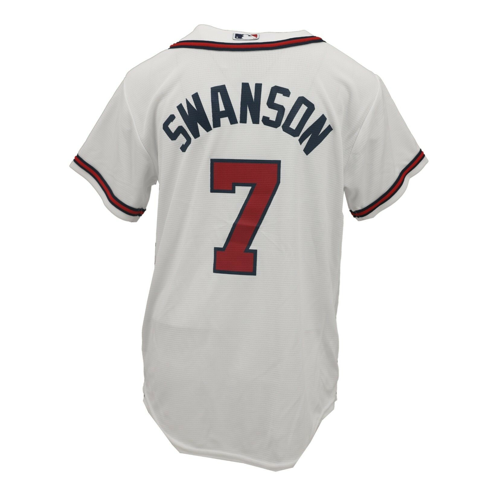 super popular e9306 724ef Details about Atlanta Braves MLB Genuine Kids Youth Size Dansby Swanson  Jersey New with Tags