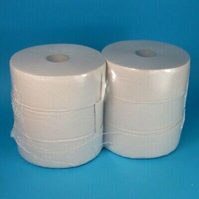 6 Großrollen Jumbo Rollen Toilettenpapier Klopapier 2-lagig Tissue Natur 320m