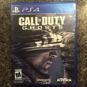 SONY PLAYSTATION 4 PS4 CALL OF DUTY GHOSTS