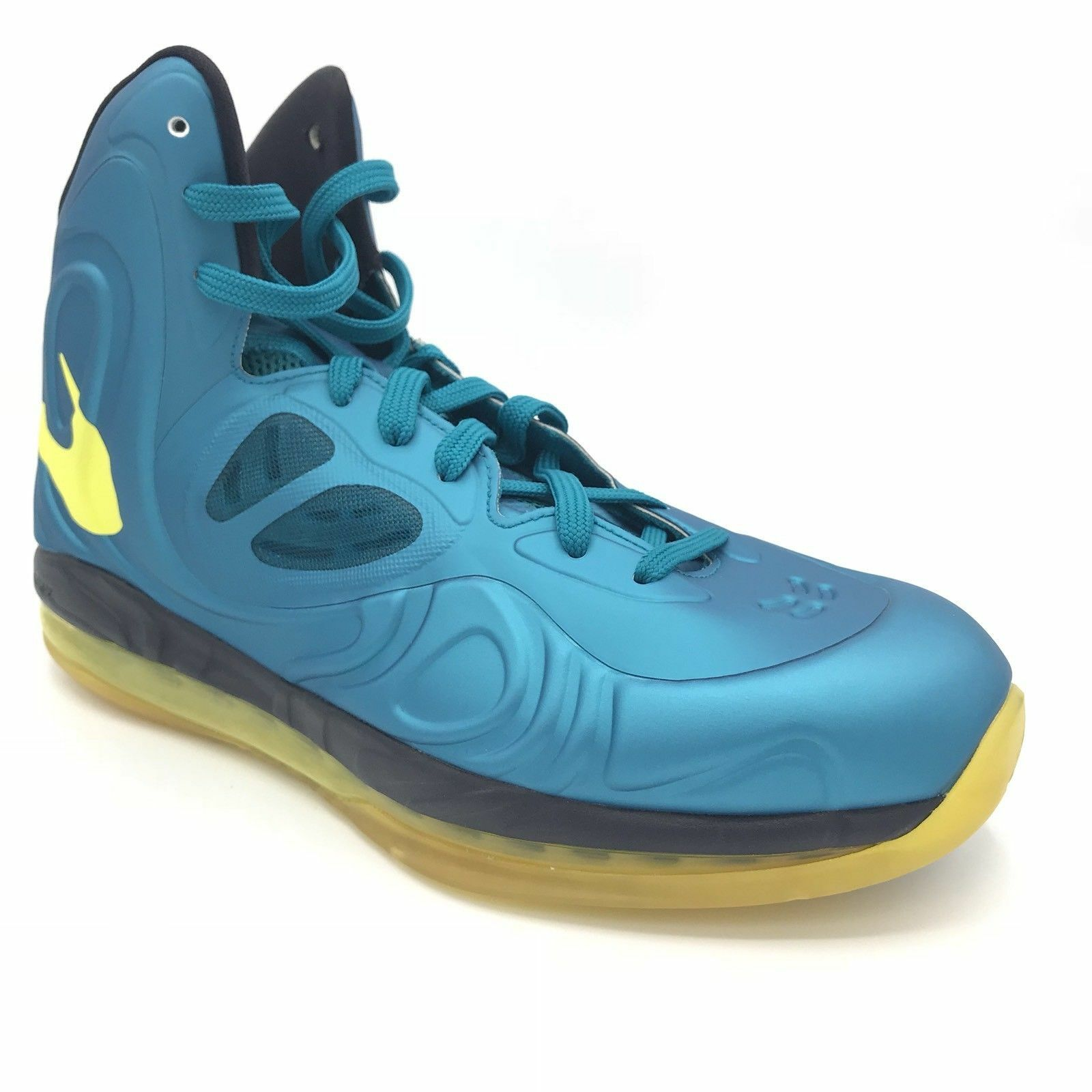 7ccedc494a4 Details about Nike Air Max Hyperposite Mens Tropical Teal Sonic Yellow  524862-303 Sz 10