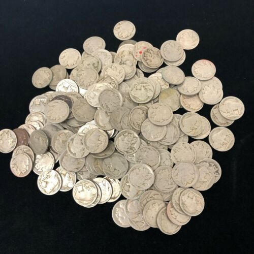 (1) NO DATE BUFFALO NICKEL ROLL (40) COINS DATELESS COLLECTOR COIN LOT