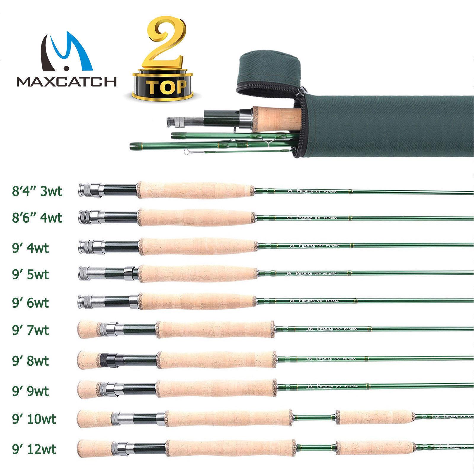 Maxcatch ligne pêche à la mouche poid en avant 100FT 1//2//3//4//5//6//7//8//9//10 WT