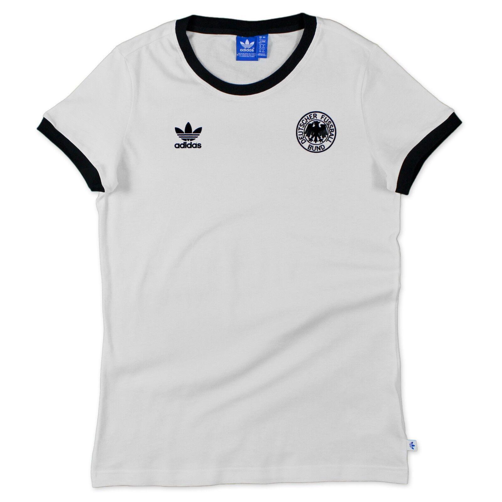 Originals Dfb Damen Trikot Weltmeisterschaft Wm 1974 Deutschland Shirt