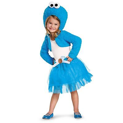Cookie Monster Halloween Costume Female (Sesame Street Cookie Monster Halloween Costume Shrug N' Tutu Fancy Dress)