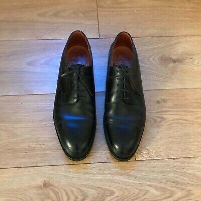 J.M. Weston Black Leather Oxford Shoes UK 13.5 US 14.5