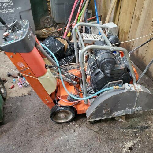 Husqvarna FS 524 concrete saw, Honda engine, low hours