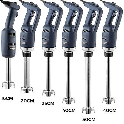 Commercial Immersion Blender Electric Handheld Mixer Jam Mak