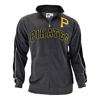 Officially licensed MLB Pittsburgh Pirates Full-Zip Jacket by Majestic -