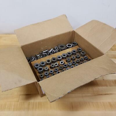 Lot Of 90 Drill Bushings Various Sizes - Used