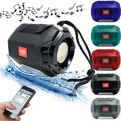 LED Mini Tragbarer Bluetooth Lautsprecher Soundbox Soundstation Musikbox MP3