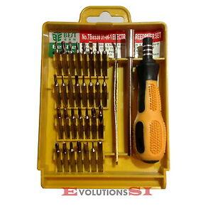 Juego set kit destornilladores de precisi n 32pc movil - Destornilladores de precision ...