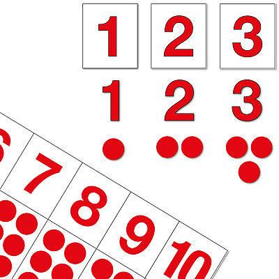 Ziffern & Chips, Mit Montessori-Material die Zahlen bis 10 lernen, DIY-Set