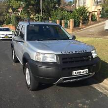 2002 Land Rover Freelander Wagon Full Log Books Ryde Ryde Area Preview