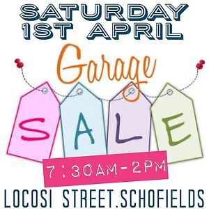 •• MASSIVE GARAGE SALE | SAT 1st APRIL •• Schofields Blacktown Area Preview