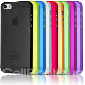 Ultra Thin 0.3mm Matte Finish Slim Fit Case For a iPhone 4 & 5 Screen Protector