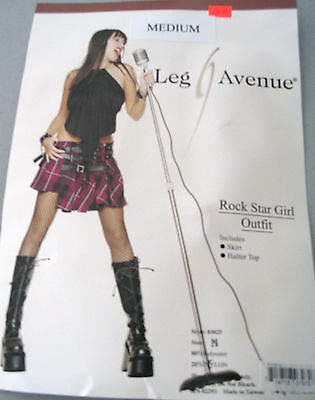 Rock Singer Costume Adult Medium