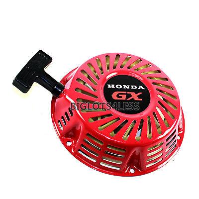 (HONDA GX240 GX270 8HP 9HP GENERATOR PULL START STARTER RECOIL 28400-ZE2-W01ZA)