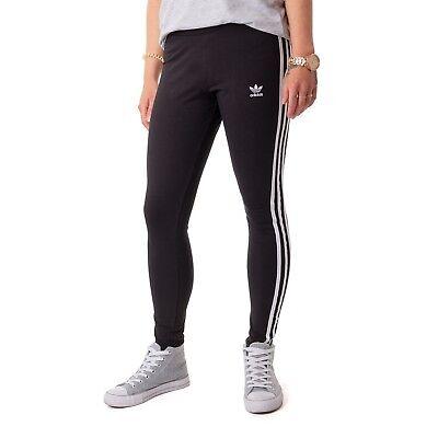 Adidas 3 STR Tight Leggings Damen Hose schwarz 15929 ()