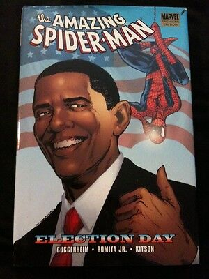 Amazing Spider Man  Election Day Hardcover