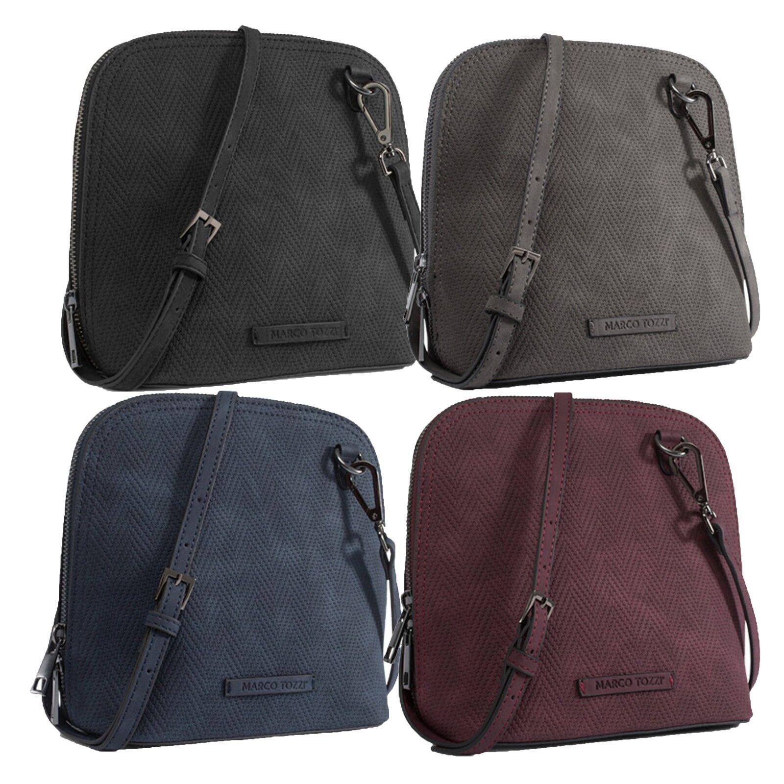 Marco Tozzi Handtasche Schultertasche Tasche schwarz braun bordeaux blau 61106