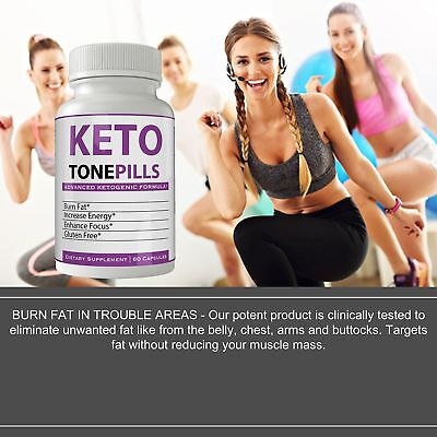 Keto Tone Pills Weightloss Supplement Keto Diet Tablets - Fire Up your Fat Bu... 5
