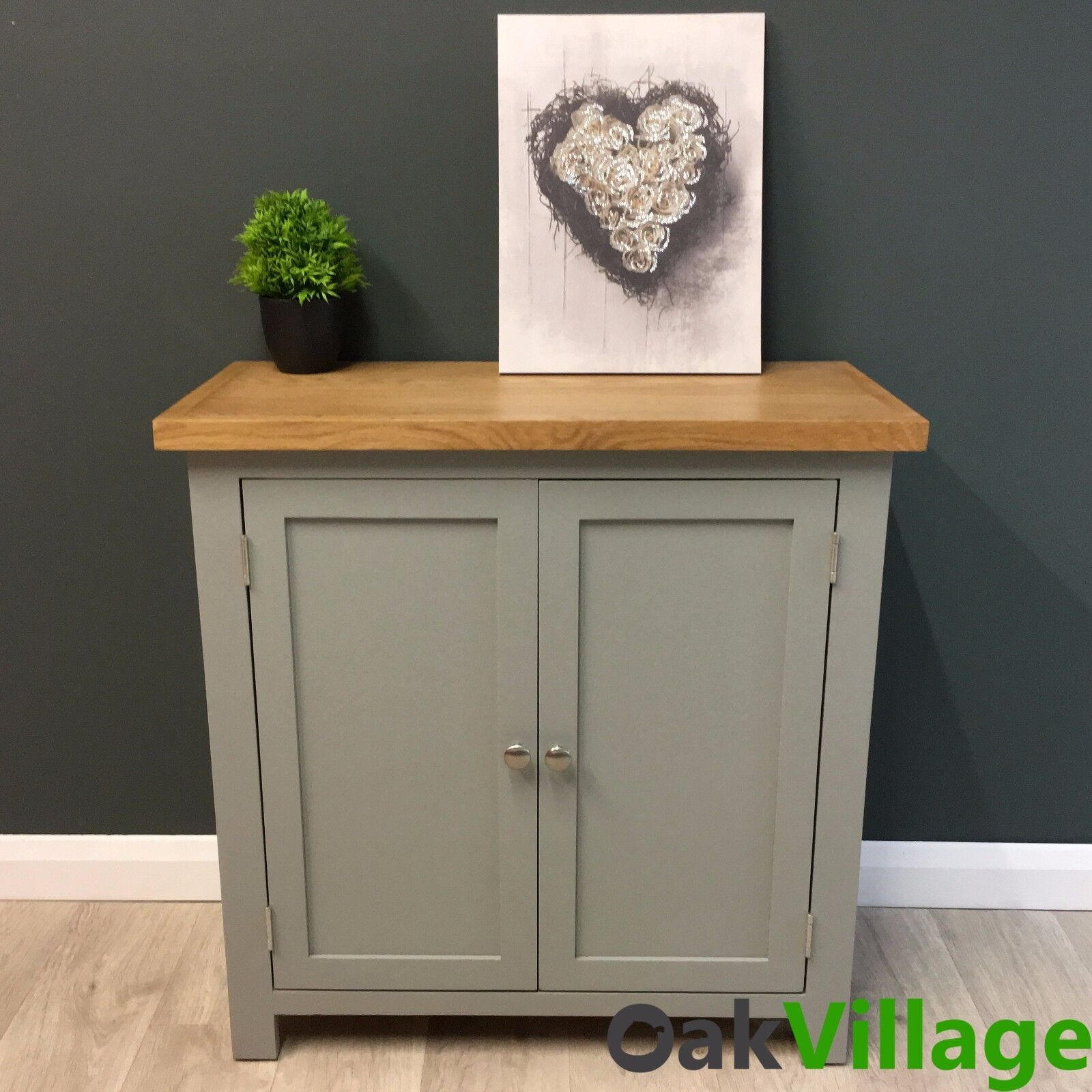 Details about grey painted linen cupboard oak grey storage cabinet solid wood greymore
