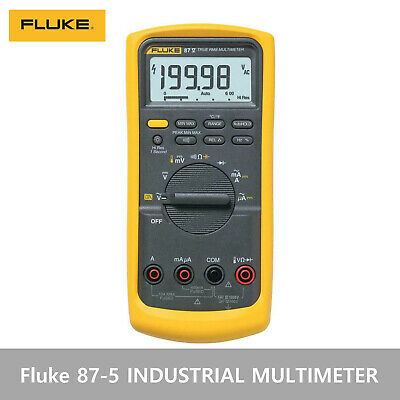 Fluke 87-5 87-v Industrial True Rms Digital Multimeter