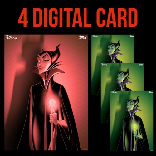 MALEFICENT VILLAINS PROFILES WRETCHED RED/SINI Topps DISNEY COLLECT DIGITAL CARD