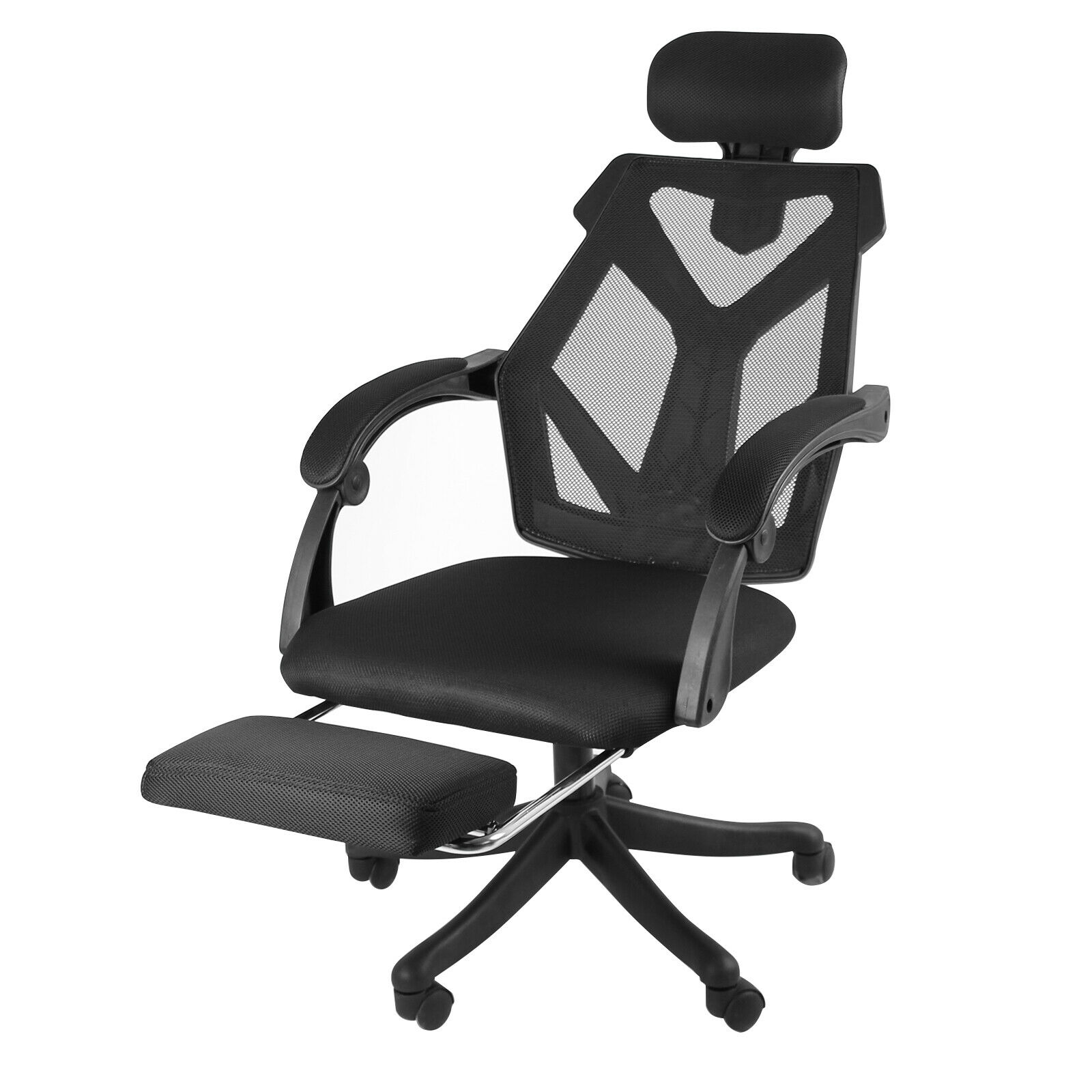 High-Back Ergonomic Office Recliner Desk Chair Adjustable Comfortable Task Chair
