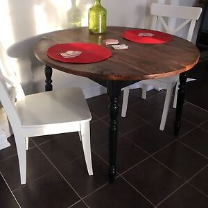 New | hand made kitchen table